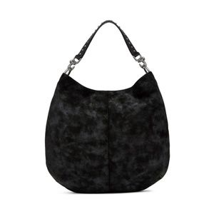 Lucky Brand Leather Dray Hobo Bag in Black